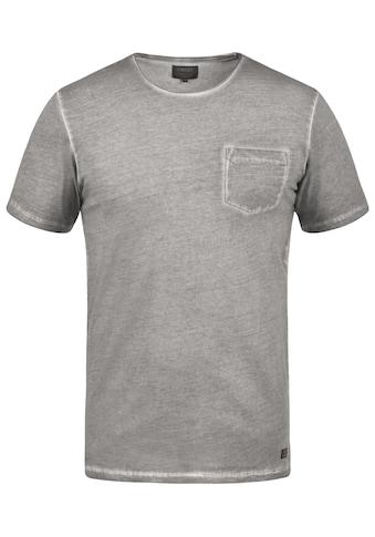 PRODUKT Rundhalsshirt »Pancho«, Kurzarmshirt mit Brusttasche kaufen