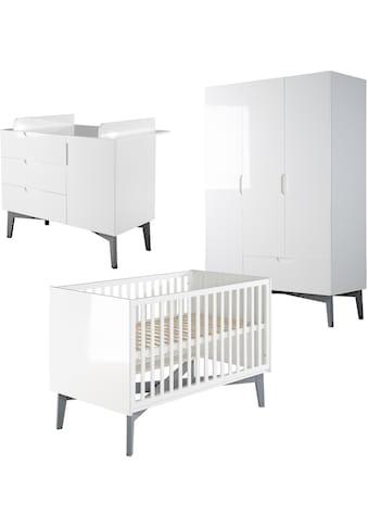 roba® Babyzimmer-Komplettset »Retro 2«, (Set, 3 tlg.), Made in Europe kaufen