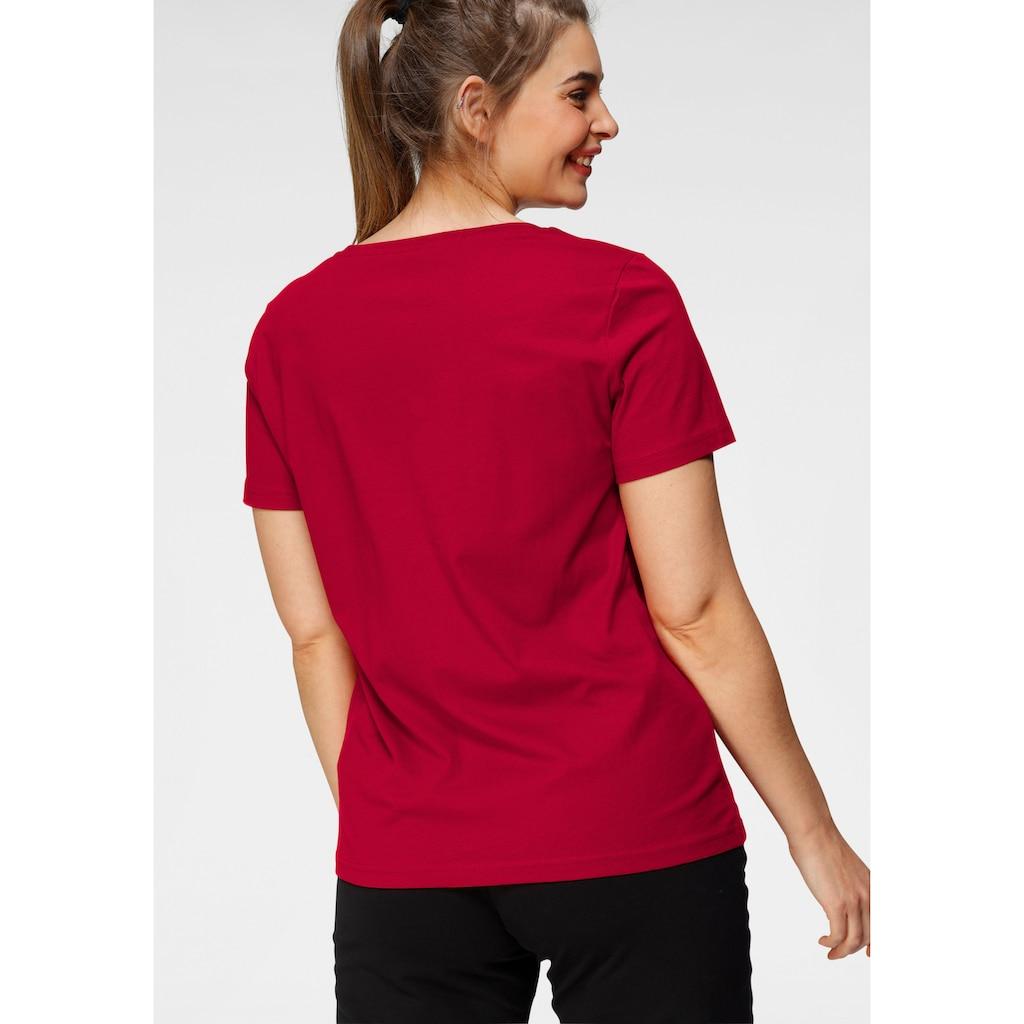 H.I.S T-Shirt »Essential-Basics«, Große Größen