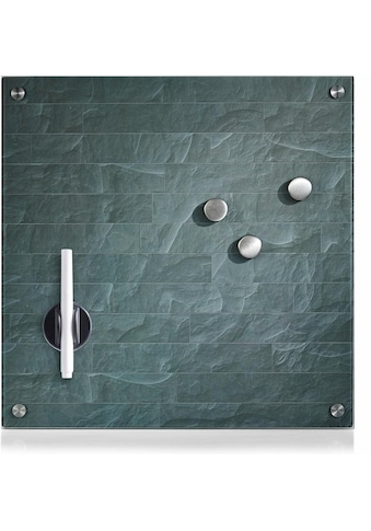Zeller Present Magnettafel »Stonewall«, Memoboard, aus Glas, Stein Motiv kaufen