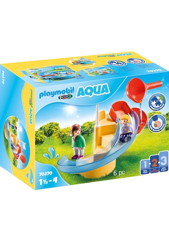 Playmobil® Konstruktions-Spielset »Wasserrutsche (70270), Playmobil 123 - Aqua«, ; Made in Germany kaufen