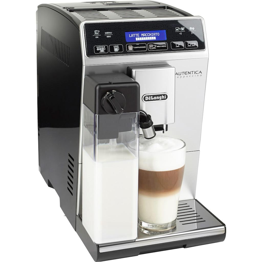 De'Longhi Kaffeevollautomat »Autentica ETAM 29.660.SB«, nur 19,5 cm breit