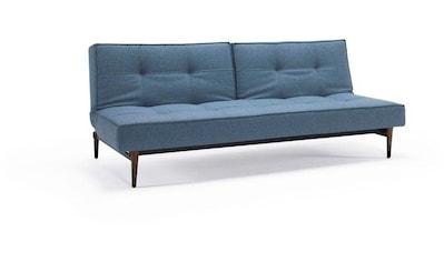 INNOVATION LIVING ™ Schlafsofa »Splitback«, mit dunklen Styletto Beinen, in skandinavischen Design kaufen