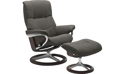 Stressless® Relaxsessel »Mayfair«, mit Hocker, mit Signature Base, Größe S, M & L, Gestell Wenge kaufen