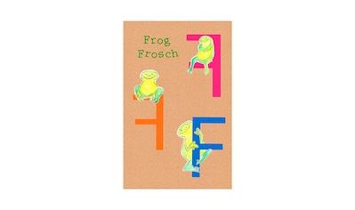 Komar Poster »ABC Animal F«, Buchstaben, Höhe: 40cm kaufen