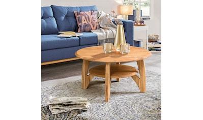 Home affaire Couchtisch »Wankde«, aus schönem massivem Eichenholz, mit einem... kaufen