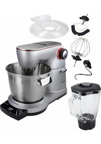 BOSCH Küchenmaschine »OptiMUM MUM9DT5S41«, 1500 W, 5,5 l Schüssel, extrastarker... kaufen