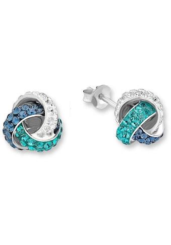 Amor Paar Ohrstecker »9202409, Knoten«, mit Kristallen kaufen