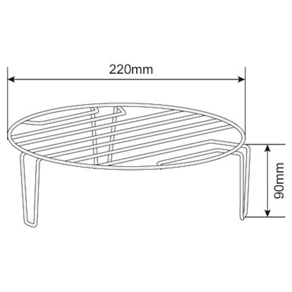 Hanseatic Mikrowelle »697476«, Grill, 700 W, weiß