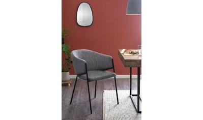 SalesFever Esszimmerstuhl, im 2er-Set, Design Armlehnstuhl kaufen