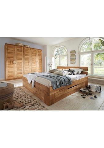 Premium collection by Home affaire Massivholzbett »Tommy«, aus massiver Wildeiche, in... kaufen