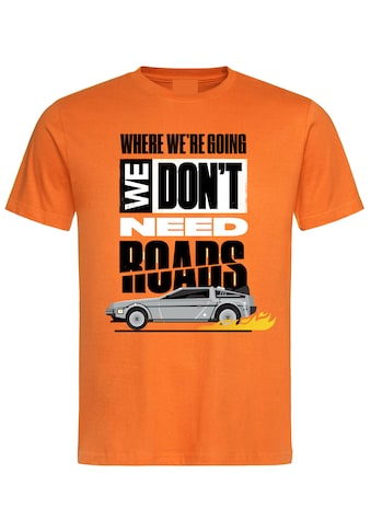 Nastrovje Potsdam T-Shirt »Back To The Future We Don't Need« kaufen