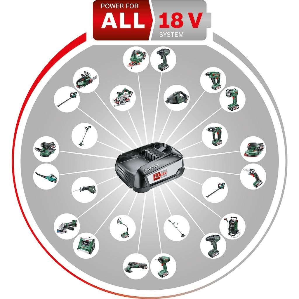 BOSCH Akku-Schlagbohrmaschine »AdvancedImpact 18«, inkl. Akku, Ladegerät, Bohrfutter und Koffer