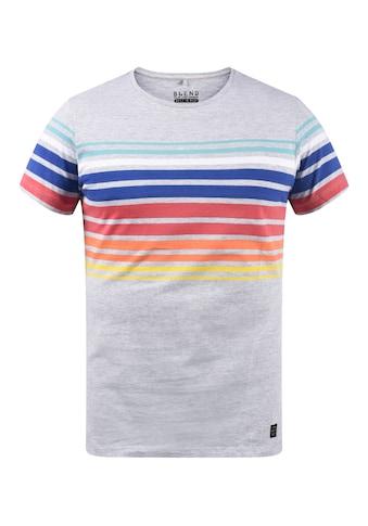 Blend Rundhalsshirt »20709617«, T-Shirt mit Muster kaufen