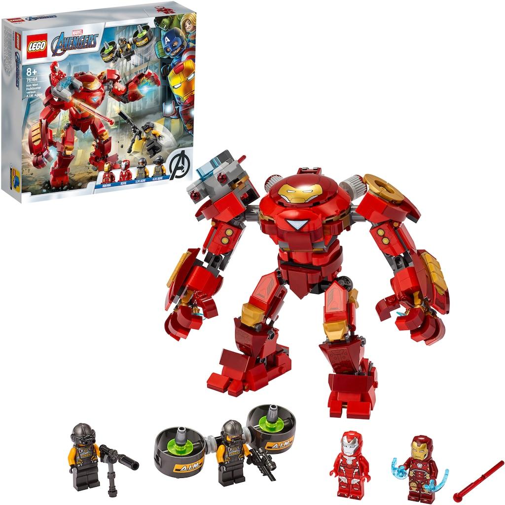 LEGO® Konstruktionsspielsteine »Iron Man Hulkbuster vs. A.I.M.-Agent (76164), LEGO® Marvel Avengers Movie 4«, (456 St.), Made in Europe