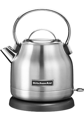 KitchenAid Wasserkocher »5KEK1222ESX«, 1,25 l, 2200 W, edelstahl kaufen