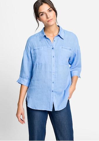 Olsen Klassische Bluse, mit Brusttaschen kaufen