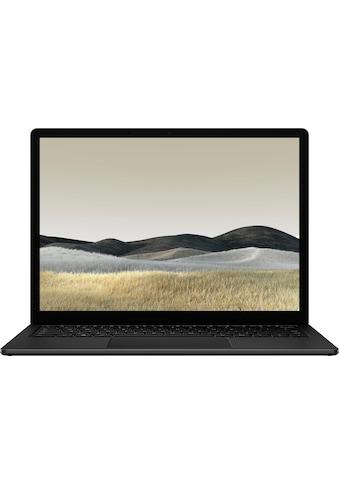 Microsoft Notebook »Surface Laptop 3 i5 13,5 8GB / 256GB matt schwarz«, ( 256 GB SSD) kaufen
