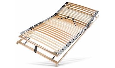 BeCo EXCLUSIV Lattenrost »Vital 33 KF«, 33 Leisten, Kopfteil manuell verstellbar, ideal für Doppelbetten, 7 Zonen, Härte einstellbar kaufen