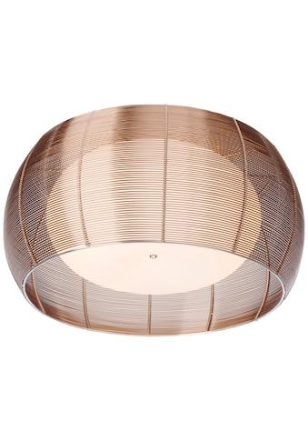 Brilliant Leuchten Relax Deckenleuchte 50cm bronze/chrom kaufen