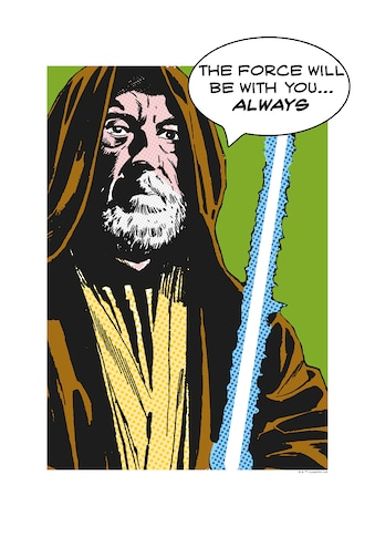 Komar Poster »Star Wars Classic Comic Quote Obi Wan«, Star Wars kaufen