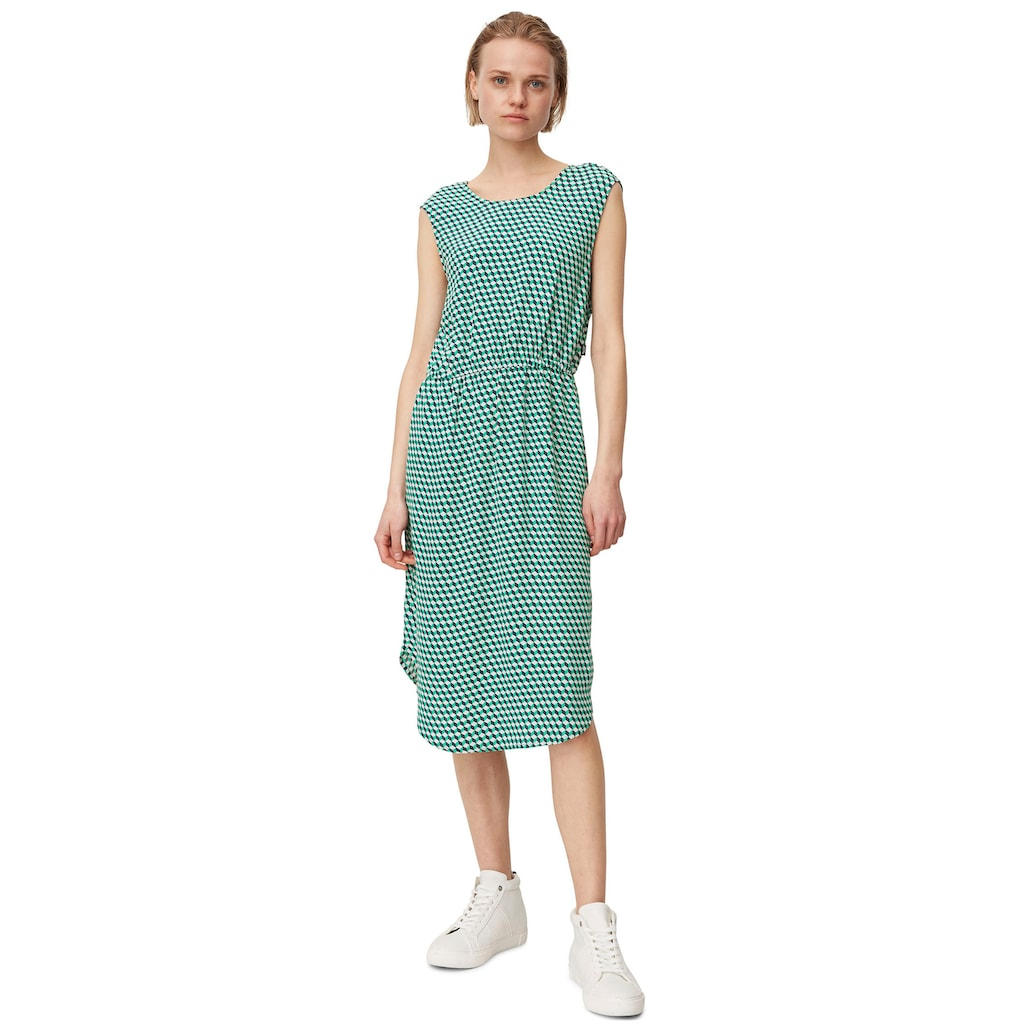 Marc O'Polo DENIM Sommerkleid, mit Gummizug in der Taille
