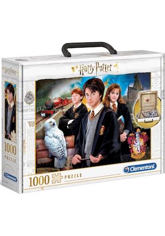 Clementoni® Puzzle »Brief Case Harry Potter«, im praktischen Koffer; Made in Europe kaufen