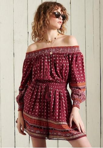 Superdry Off-Shoulder-Kleid kaufen