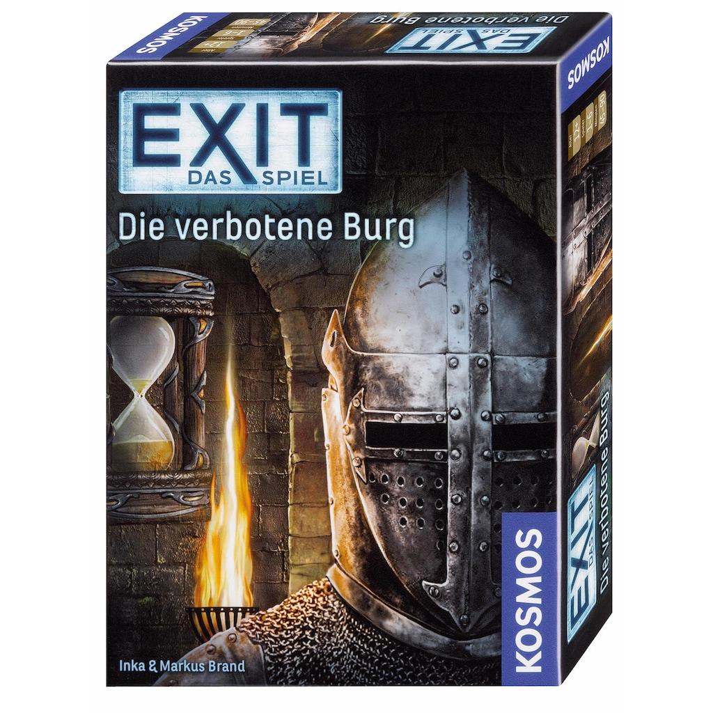 Kosmos Spiel »Exit Das Spiel, Die verbotene Burg«, Made in Germany
