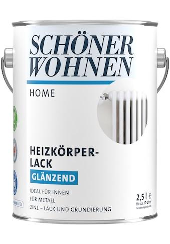 SCHÖNER WOHNEN-Kollektion Heizkörperlack »Home«, glänzend, 2500 ml, weiß kaufen