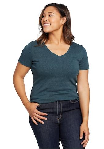 Eddie Bauer T-Shirt, Favorite mit V-Ausschnitt kaufen