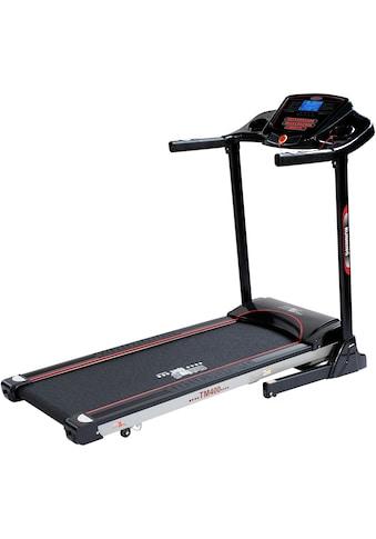 Christopeit Sport® Laufband »TM 400 Black Edition«, Empfänger für drahtlosen Pulsmessgurt im Computer enthalten kaufen