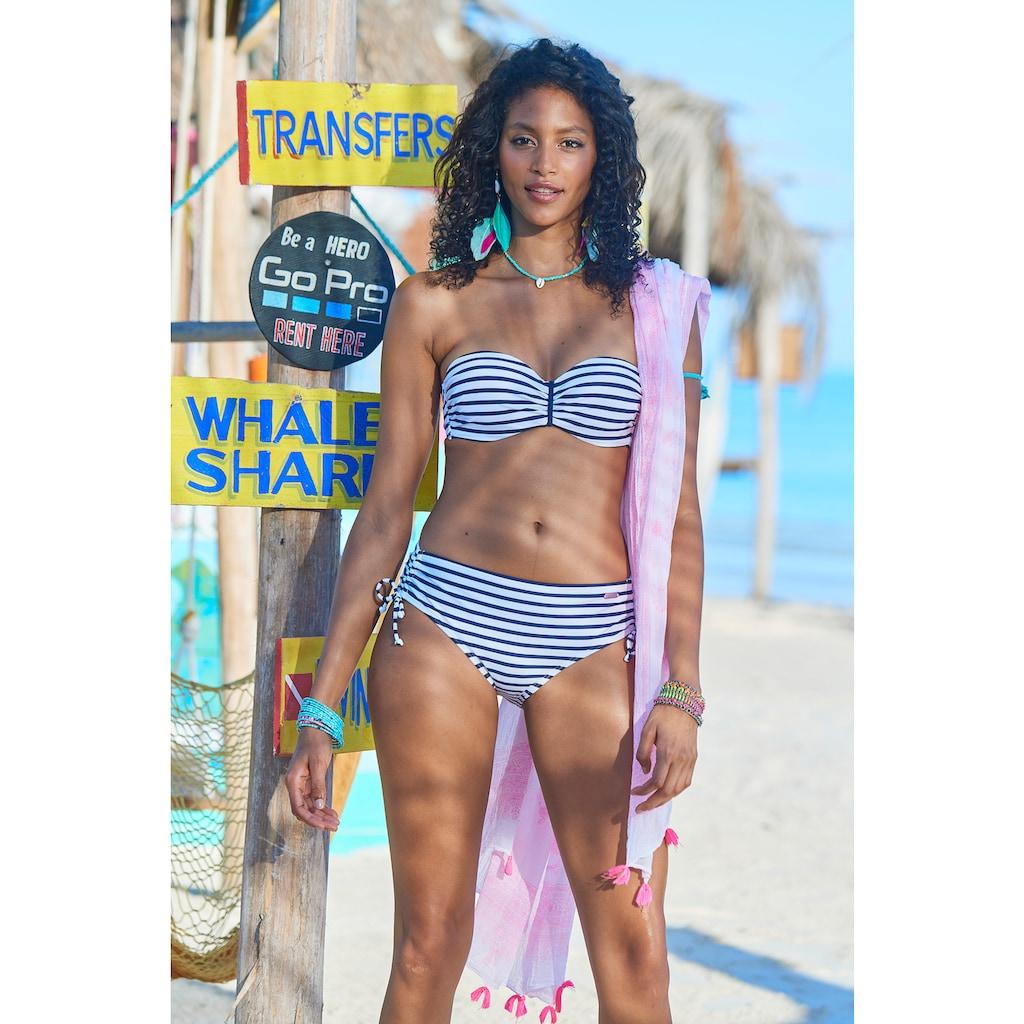 Venice Beach Bandeau-Bikini-Top »Summer«, mit geraffter Mitte