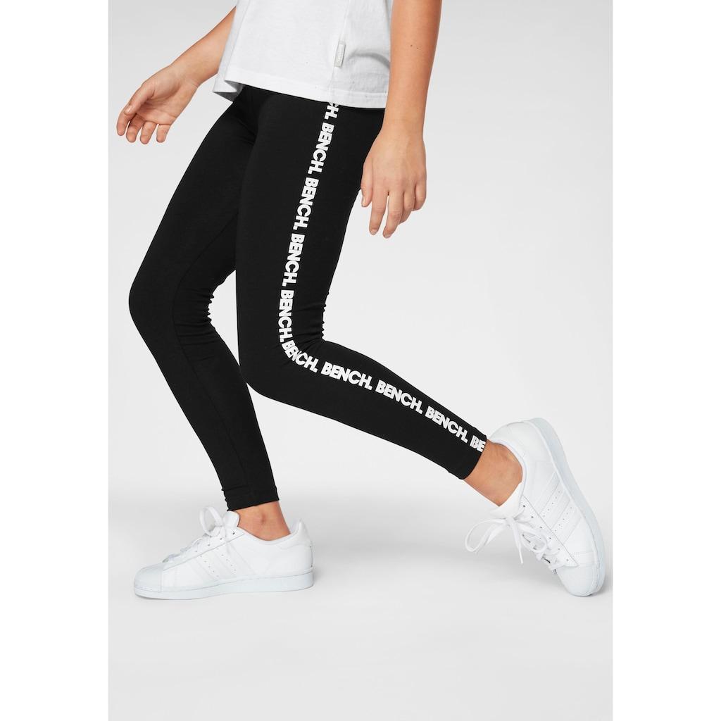 Bench. Leggings, mit Bench-Logo Drucken