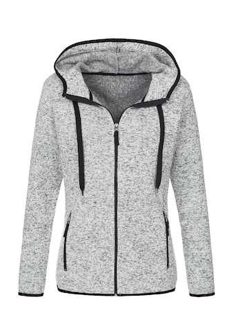 Stedman Fleecejacke »Outdoor Knitted«, in Strickoptik kaufen