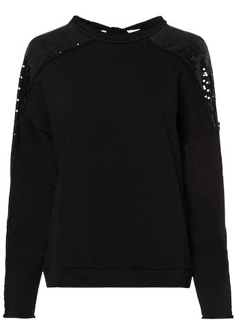 LTB Sweatshirt »NAPAYE«, mit kleinem Rückenausschnitt zum Binden kaufen