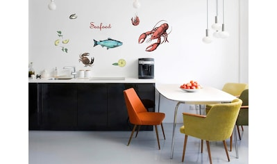 Komar Wandtattoo »Seafood«, selbstklebend, rückstandslos abziehbar kaufen