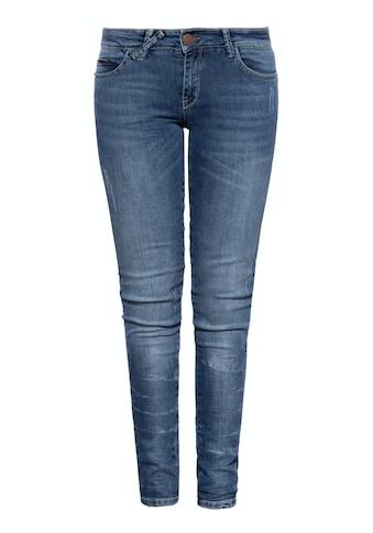 Way of Glory 5-Pocket-Jeans, mit Used-Effekten und Waschung kaufen