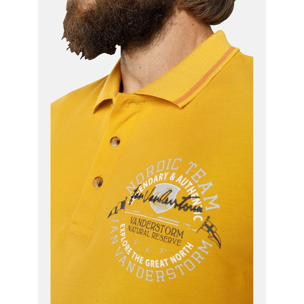 Jan Vanderstorm Poloshirt »THORE«, reine Baumwolle, Comfort Fit