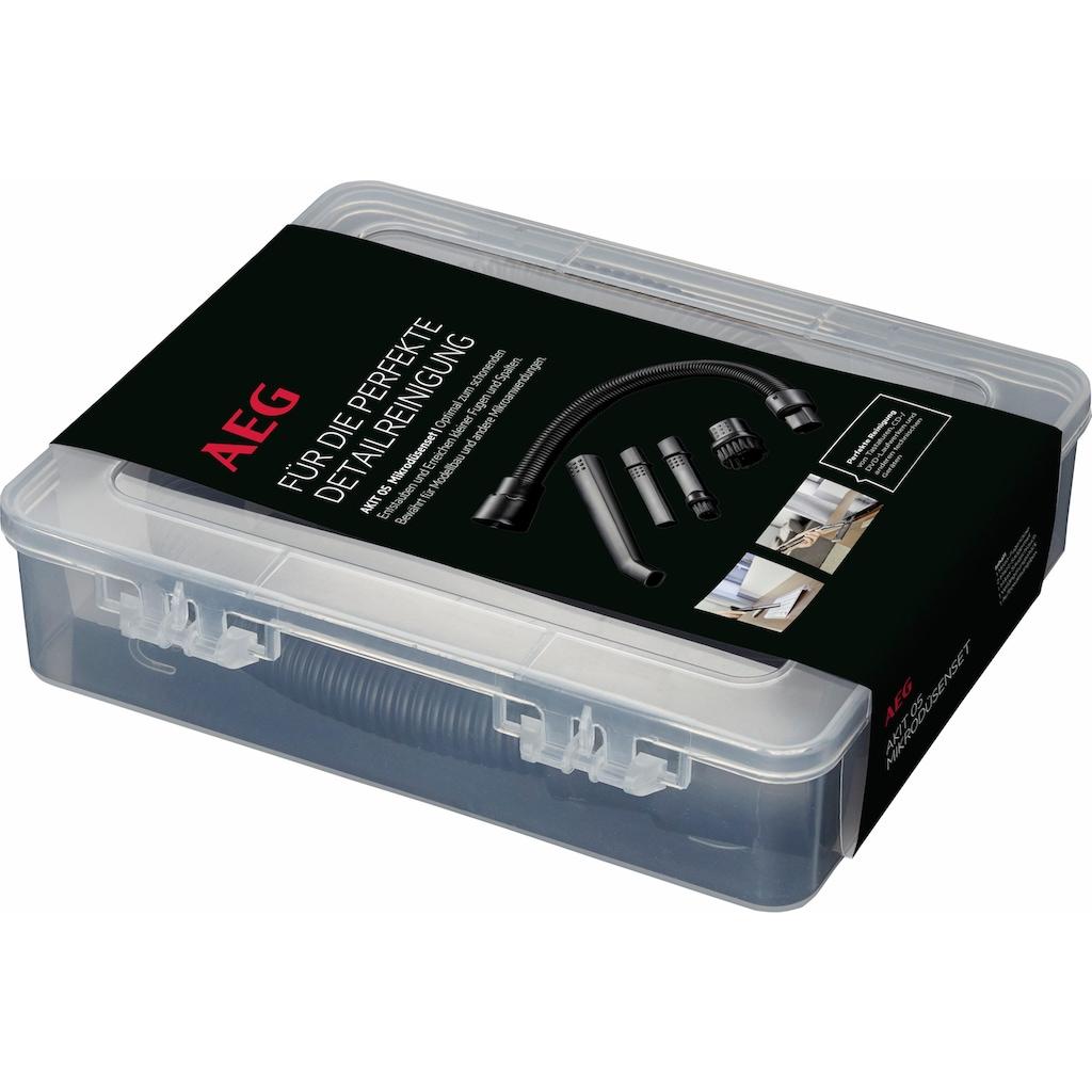 AEG Staubsaugerdüsen-Set »AKIT 05 Mikrodüsen-Set«, (Set, 5 tlg.), zur Detailreinigung von Tastaturen & Elektrogeräten (5-teilig) für verschiedene Modelle
