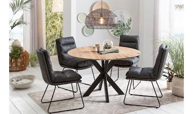 Home affaire Esstisch »Quebec«, mit eleganter Schweizer Kante kaufen