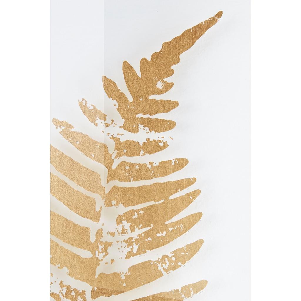 Leonique Wanddekoobjekt, Wanddeko, mit schönen Blatt-Motiven