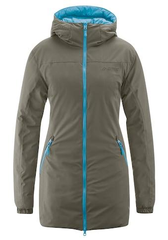 Maier Sports Funktionsjacke »Tiana«, Kuschelig warmer Wendemantel für Outdoor und Reise kaufen