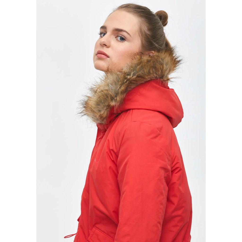 LTB Outdoorjacke »JEYORO«, mit modischem Fake-Fur Kragen an der Kapuze