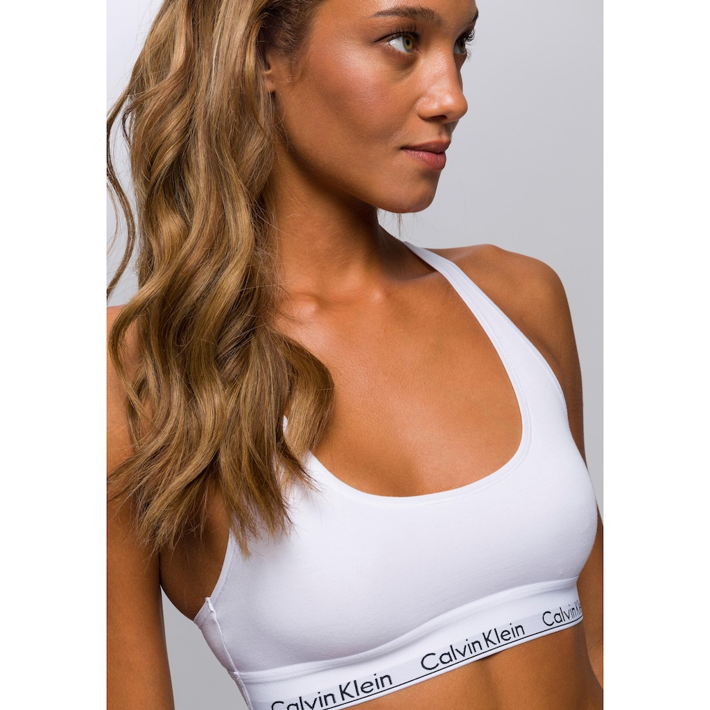 Calvin Klein Bustier »Modern Cotton«, mit Racerback