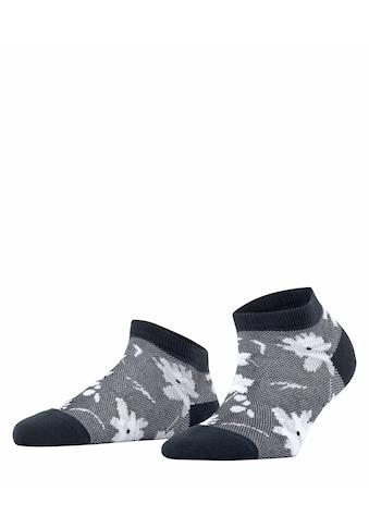Esprit Sneakersocken »Filigree Flower«, (1 Paar), mit Blumenmuster kaufen