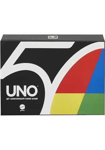 Mattel games Spiel »UNO Premium, 50 Jahre UNO«, Jubiläumsedition (mit Münze) kaufen
