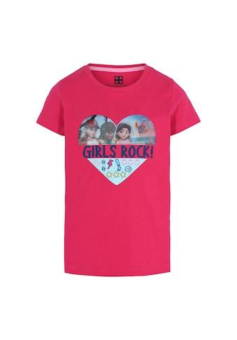"LEGO® Wear Kurzarmshirt »M12010077«, ""GIRLS ROCK!"" kaufen"
