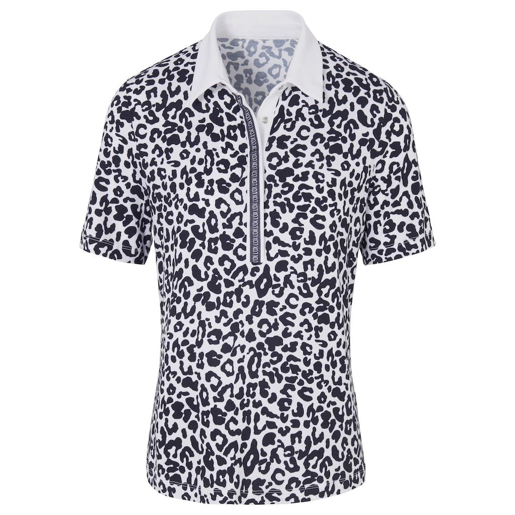 Looxent Poloshirt »mit 1/2-Arm«, Dekorative Naht