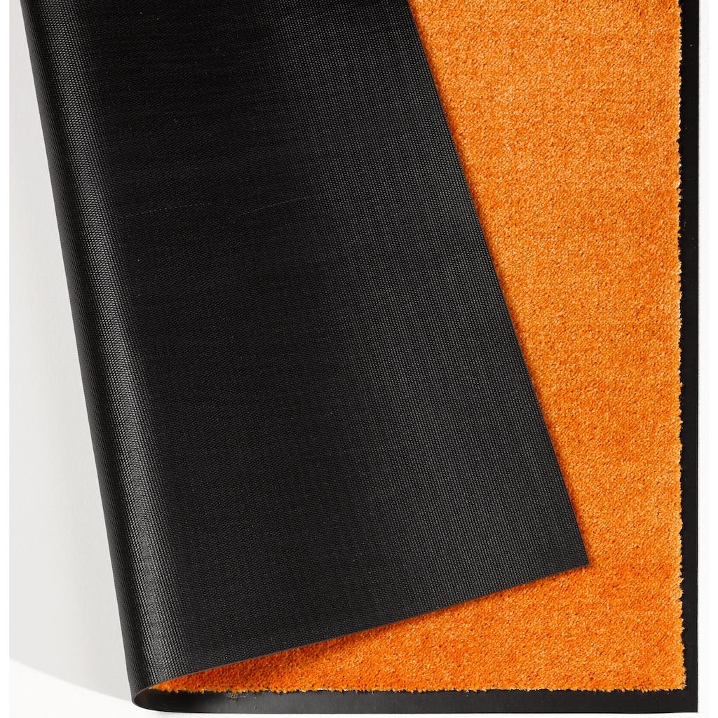 HANSE Home Fußmatte »Deko Soft«, rechteckig, 7 mm Höhe, Fussabstreifer, Fussabtreter, Schmutzfangläufer, Schmutzfangmatte, Schmutzfangteppich, Schmutzmatte, Türmatte, Türvorleger, saugfähig, waschbar